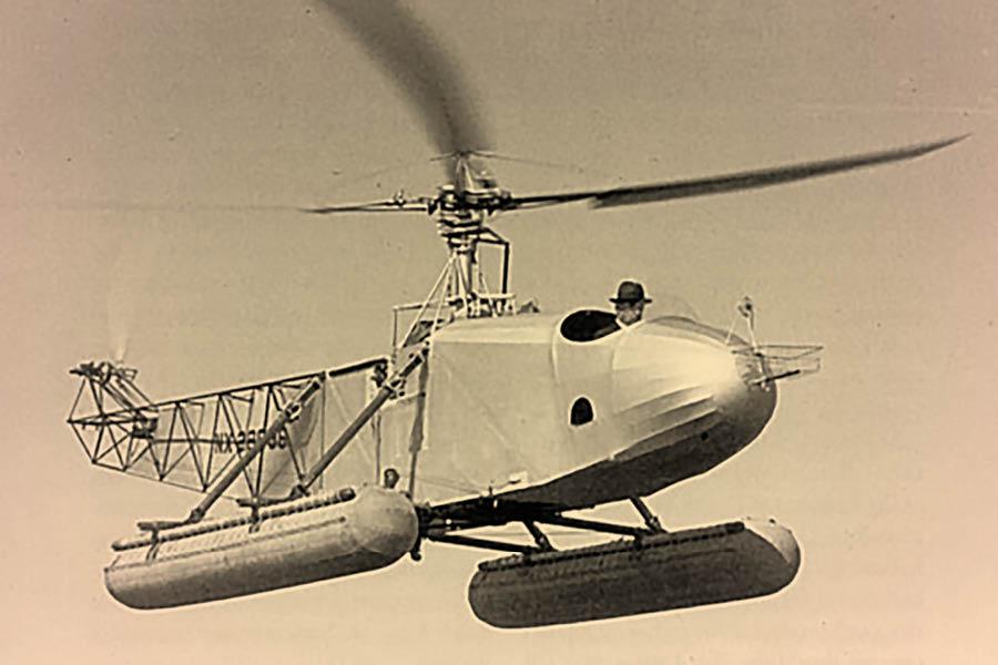 День Люди События. 17 апреля.Инженер Игорь Сикорский продемонстрировал первый вертолет-амфибию