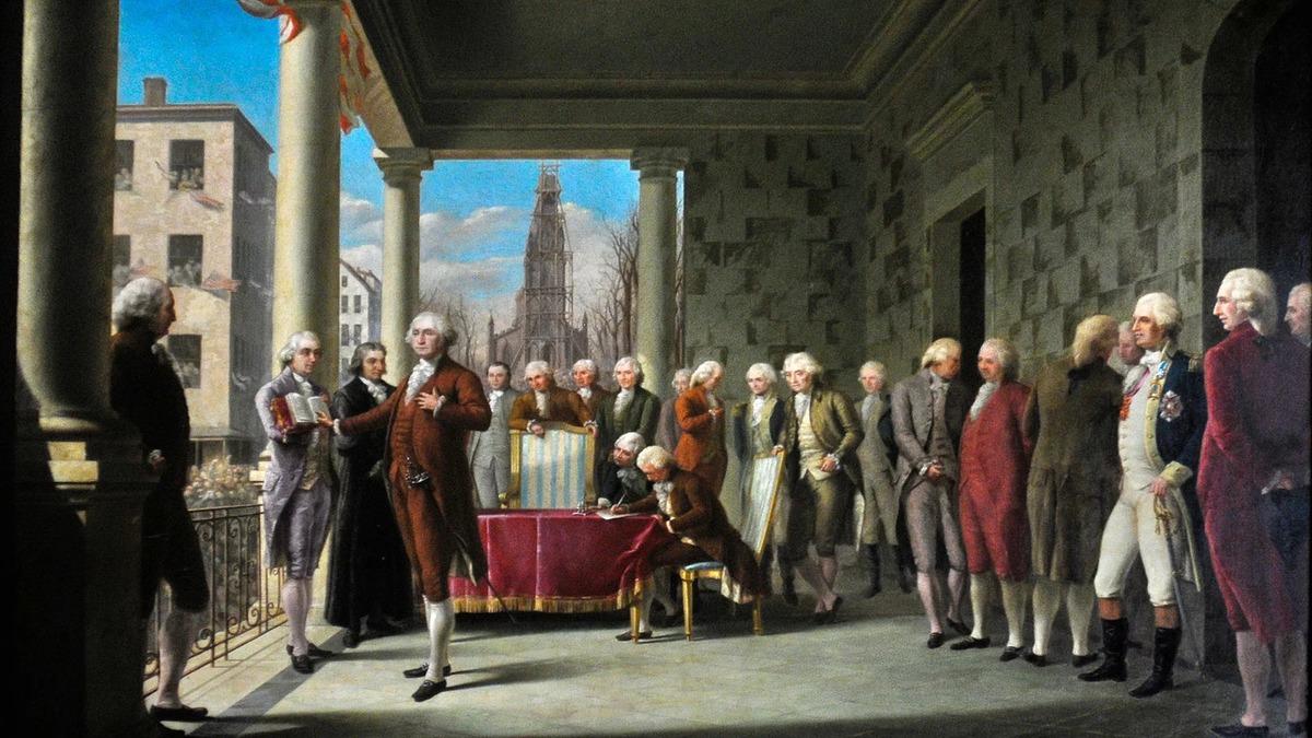День Люди События. 30 апреля.Состоялась церемония инаугурации первого президента США