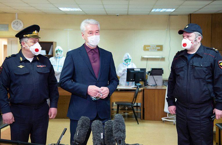 Собянин заявил о нежелании вводить в Москву войска из-за коронавируса