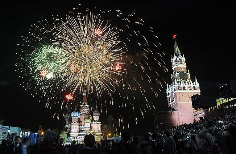 Москва.Салют 9 мая 2020. Прямая трансляция