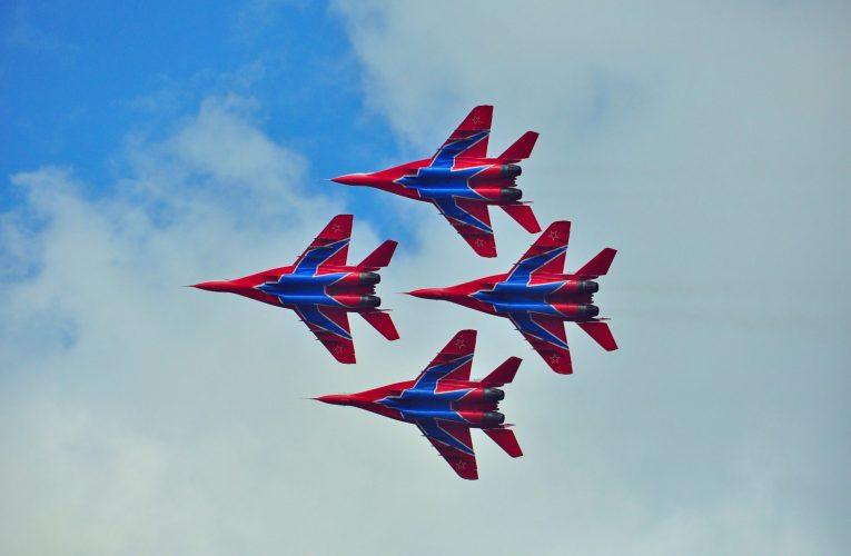 День Люди События. 6 мая.День рождения авиационной пилотажной группы «Стрижи»