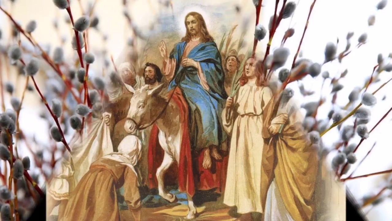 Александр Лебеев поздравил христиан с Вербным воскресеньем
