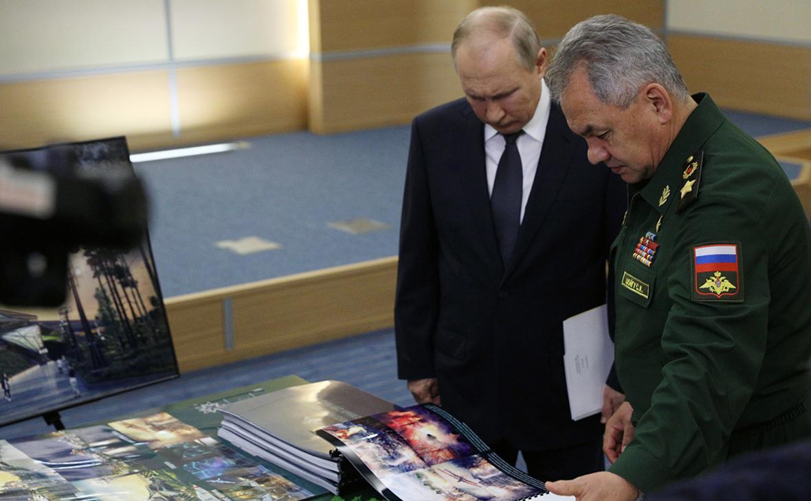 Шойгу предложил Путину построить музей в форме звезды Подробнее на РБК: https://www.rbc.ru/politics/27/05/2021/60afc1459a79476bd4247f75?from=from_main_7